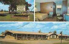 Baraboo Wisconsin Spinning Wheel Motel Multiview Vintage Postcard K49260