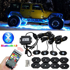 LED RGB Off-road Rock Lights Wireless Bluetooth Music Accent Car Jeep SUV Truck