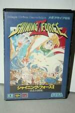 SHINING FORCE II GIOCO USATO BUONO STATO SEGA MEGA DRIVE ED JAPAN FR1 38911