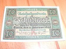 4 rico billetes: 10 Mark