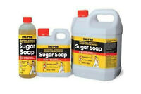 UNI-PRO 3 IN 1 SUGAR SOAP - 3 SIZES - INDUSTRIAL STRENGTH - SUPER CONCENTRATED
