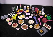 BARBIE *DISHES, FOOD, MINIATURES, DOLLHOUSE, KITCHEN LOT #1
