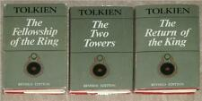 TOLKIEN ~ LORD OF THE RINGS TRILOGY ~ HC SET ~ 2nd EDITION 1st PRN ~ 1966 ~ RARE