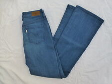 WOMENS LEVIS DEMI CURVE CLASSIC RISE BOOTCUT JEANS SIZE 4x31.5 #W2476