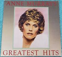 Anne Murray Greatest Hits Original LP 1980 Vinyl Album - Snowbird, Danny's Song
