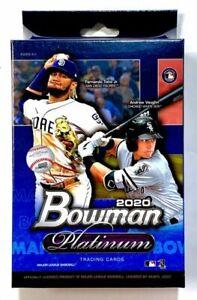 Topps 2020 Bowman Platinum MLB Baseball Hanger Box