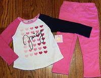 JUICY COUTURE BABY/KIDS GIRLS BRAND NEW 2Pc DRESS LEGGINGS SET Size 18-24M, NWT