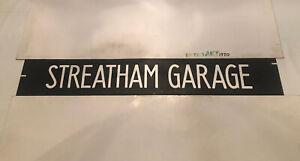 "Streatham London Bus Route Blind 42"" # Streatham Garage"
