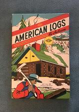 ☆ Vintage HALSAM 1950's AMERICAN LOGS 53 Pieces SET