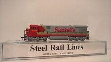 "KATO N-Scale C30-7 Santa Fe ""Super Fleet"" #8075 Custom Painted DCC Ready MINT"