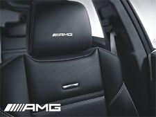 5x Aufkleber für Ledersitze und mehr Logo AMG Simbol