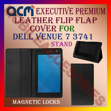 ACM-EXECUTIVE LEATHER FLIP FLAP CASE for DELL VENUE 7 3741 TABLET COVER STAND