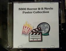 ***5800 Horror & B Movie Poster Collection***