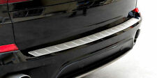 Stainless Steel Outer Rear Bumper Protector Sill trim For BMW X5 E70 2008 - 2013