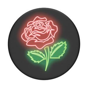 Neon Rose - PopSockets PopGrip: Universal Phone Grip Holder