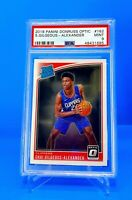2018 Shai Gilgeous-Alexander Optic Rated Rookie #162 PSA 9 *685