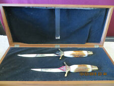 Vintage Gerber Presidents Collection MK1 & MK2 Knife Set