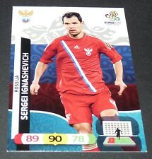 SERGEI IGNASHEVICH RUSSIE ROSSIJA FOOTBALL CARD PANINI UEFA EURO 2012