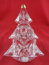 Lenox Full Lead Crystal Christmas Tree Paperweight