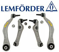 OEM Front Lower Control Arm Lt & Rt 4pcs Lemforder BMW 528i 535i 550i 640i 650i