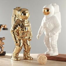 Ceramic Flower Planter Vase Space Man Sculpture Astronaut Cosmonaut Home Decor