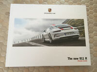 PORSCHE 911 R COUPE HARDBACK PRESTIGE SALES BROCHURE 2016 NEW rare