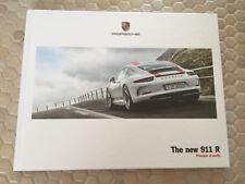 PORSCHE 911 R COUPE HARDBACK PRESTIGE SALES BROCHURE 2016 UK EDITION NEW