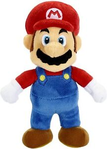 """NINTENDO SUPER MARIO Official 7.5"""" Plush Figure Doll Toy * NEW"""