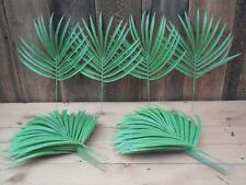 18 x Plastic Artificial Foliage Fronds Leaves Home Decor Floral Display