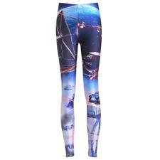 Chica Polainas Star Wars Galaxy C0690 Pantalón Legging para mujer Estampado de avión