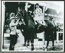 "1930 - GALLANT FOX in Preakness Stakes Winners Circle - 10"" x 8"""