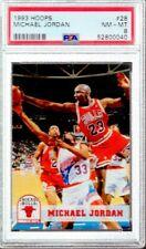 1993/94 Hoops Michael Jordan #28 PSA 8