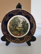 Weatherby Royal Falcon Gift Ware Plate  Stoke-on-Trent England