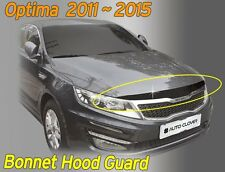 Acrylic Front Bonnet Hood Guard Garnish Deflector B035 for KIA Optima 2011-2015