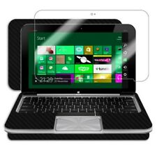 Skinomi Carbon Fiber Black Tablet Skin+Screen Protector for HP Envy x2+Keyboard