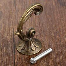 Vintage Bronze Bathroom Kitchen Wall Hooks Coat Rack Towel Clothes Hook Holder