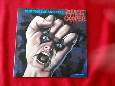 ALICE COOPER~ RAISE YOUR FIST AND YELL~ LIKE NEW~ JAPAN PRESSING~ MCA~CD