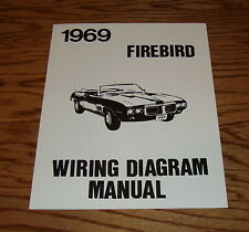 1969 Pontiac Firebird Wiring Diagram Manual 69