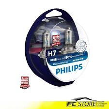 Ampoules Pour Phares Voiture Philips Racing Vision H7 +150% 12V 55W 12972RVS2
