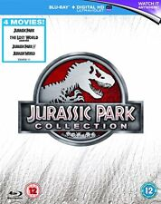 Jurassic Park Collection blu ray box set The lost world 1 2 3 4 RB Jurassic