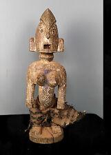 Old Tribal Bambara Maternity Figure     --- Mali
