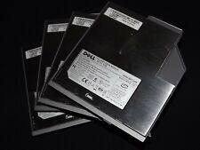 """Lot of 4 Dell 3.5"""" Floppy Disk Drive Modules Model No. MPF82E"""
