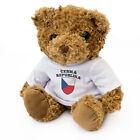 NEW - CZECH REPUBLIC Flag - Teddy Bear - Cute Soft Cuddly - Gift Present  esk