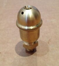 SMALL SAVAGE STYLE PERIOD BRASS SCREW TOP WICK FEED  OILER 1/8 BSP THREAD