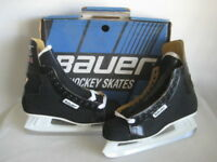 Bauer 81 Black Panther Hockey Ice Skates Men's Size 9.5 D