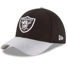 Oakland Raiders New Era 39Thirty NFL Sideline M/L Flexfit Fitted Cap Hat