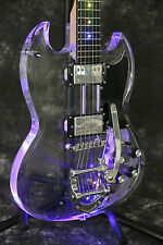 Starshine SR-MSG-001 LED light  electric guitar acrylic body coloful led light