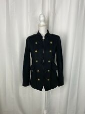 Hurley Black Military Style Jacket Size XS