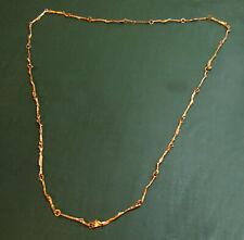 Wunderbare lange LAPPONIA 585er GOLDKETTE Weckström • 21,35 g • Gold-Collier
