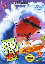 COOL SPOT locale GENESIS incorniciato stampa (Man Grotta Foto Poster Gioco Gaming ART)